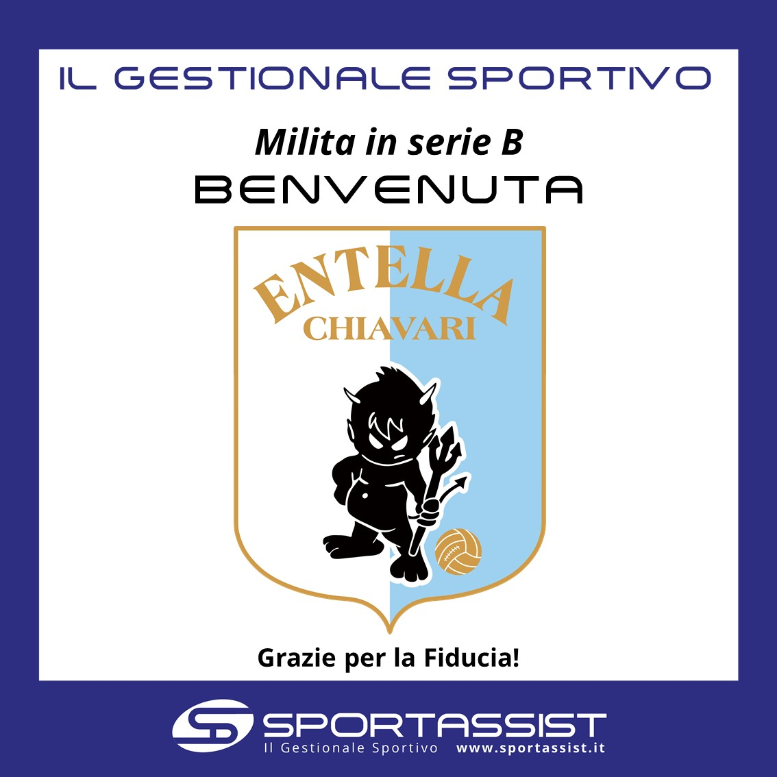 SportAssist e Entella
